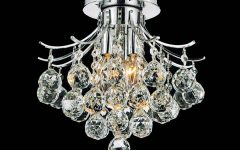 Small Chrome Chandelier