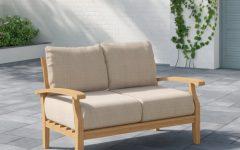 Summerton Teak Loveseats With Cushions