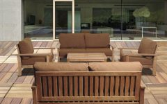 Teak Patio Conversation Sets