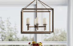 Thorne 6-light Lantern Square / Rectangle Pendants