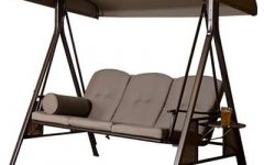 3 Person Outdoor Porch Swings With Stand