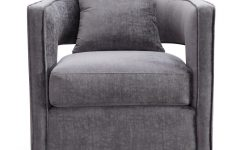 Grey Swivel Chairs