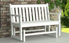 Traditional Glider Benches