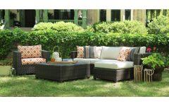 Patio Conversation Sets with Sunbrella Cushions