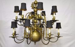 Large Brass Chandelier
