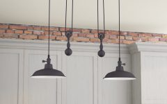 Ariel 2-Light Kitchen Island Dome Pendants