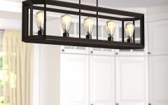Bouvet 5-light Kitchen Island Linear Pendants