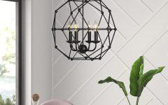 Cavanagh 4-light Geometric Chandeliers