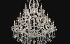 Large Crystal Chandeliers