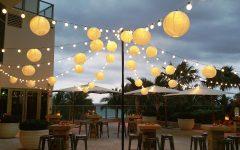 Outdoor Hanging Japanese Lanterns