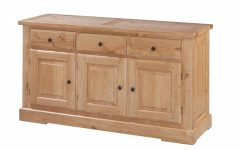 Square Brass 4 Door Sideboards