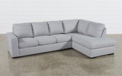 Lucy Grey 2 Piece Sectionals With Laf Chaise
