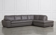 Tatum Dark Grey 2 Piece Sectionals with Laf Chaise