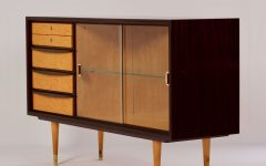 Vintage 8 Glass Sideboards