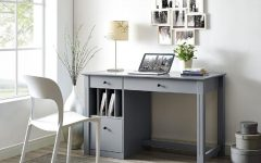 Grey Computer Desks