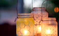 Outdoor Jar Lanterns