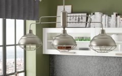 Dunson 3-Light Kitchen Island Pendants