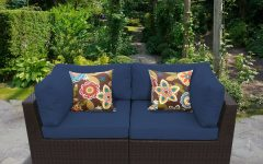 Kunz Loveseats With Cushions