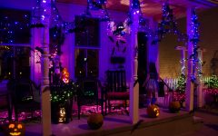 Outdoor Halloween Lanterns