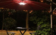 Patio Umbrellas With Lights