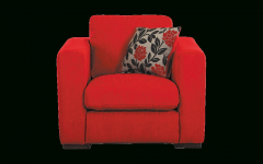 Red Sofa Chairs
