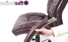 Verona Cream Executive Leather Office Chairs