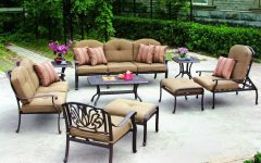 Patio Conversation Sets with Ottomans