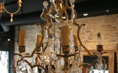 Vintage French Chandeliers
