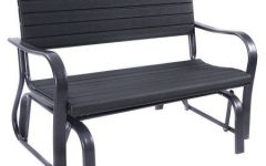 Steel Patio Swing Glider Benches