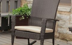Resin Patio Rocking Chairs