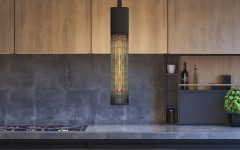 Schutt 1-Light Cylinder Pendants