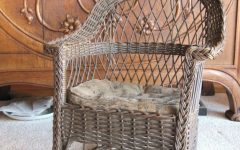 Vintage Wicker Rocking Chairs