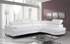 White Leather Corner Sofas