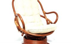 Wicker Rocking Chairs with Cushions