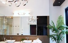Modern Bathroom Chandeliers