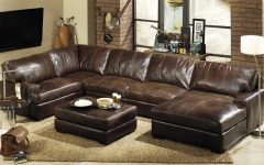 High End Leather Sectional Sofas