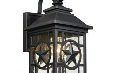 Rustic Outdoor Electric Lanterns