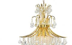 Crystal Gold Chandeliers