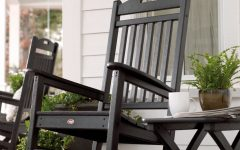Outdoor Rocking Chairs with Table