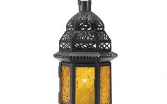 Yellow Outdoor Lanterns